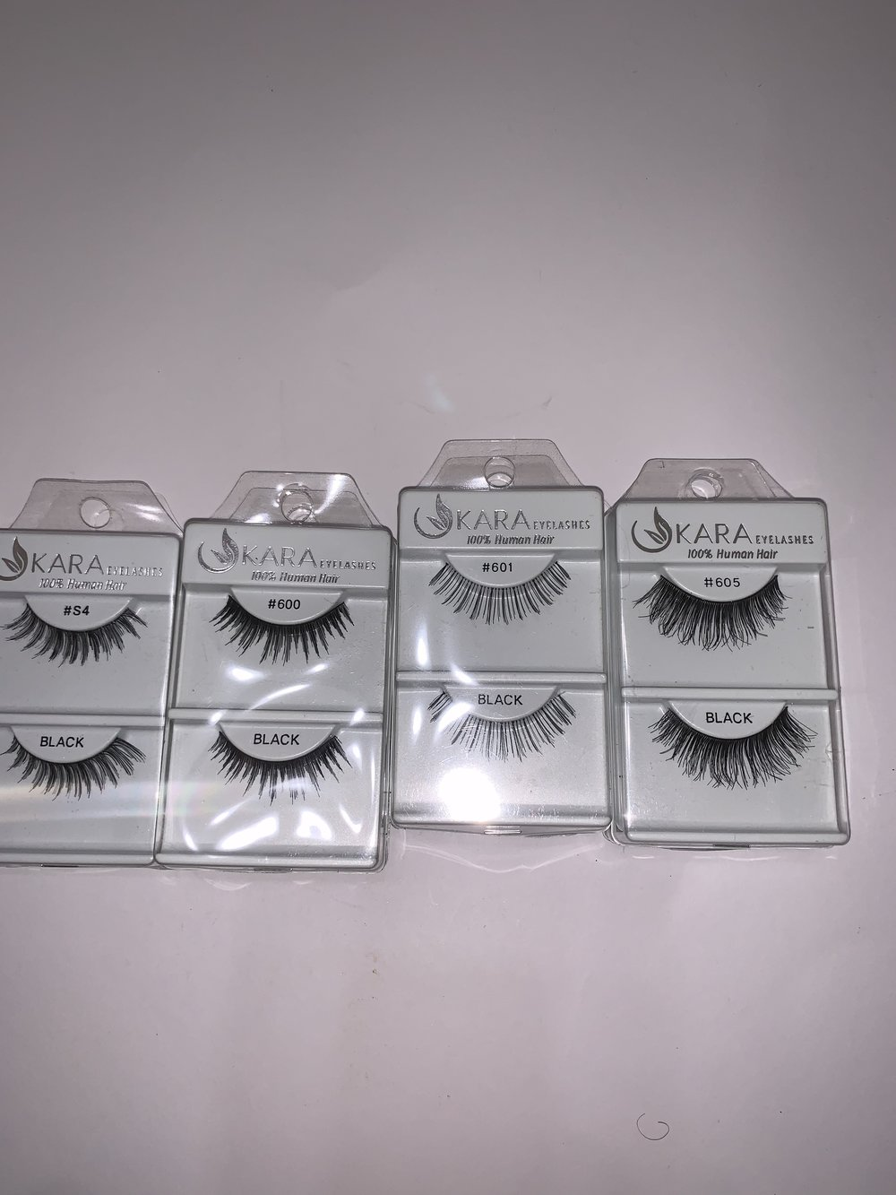 Lashes- 2 sets of each-$5