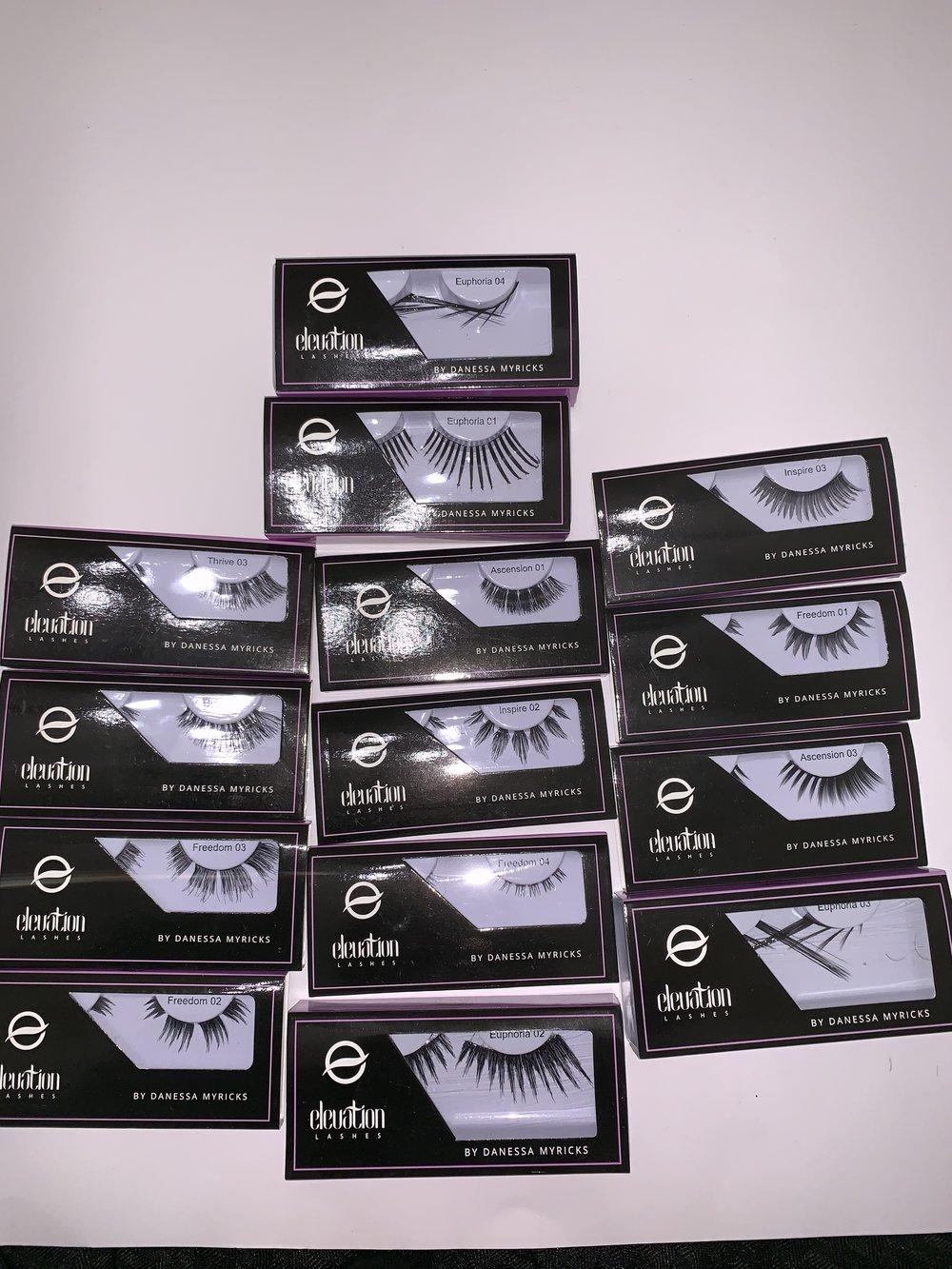 Danessa Myricks evolution lashes-$12