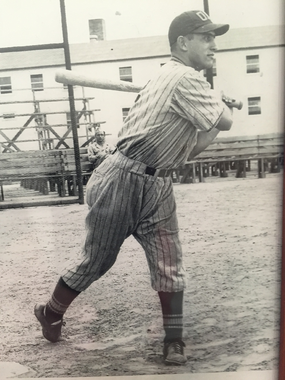 George Najour, seen here in 1943, was the player captain for Atlanta Ordinance Depot - which won The National Amateur (semi-pro) Championship.