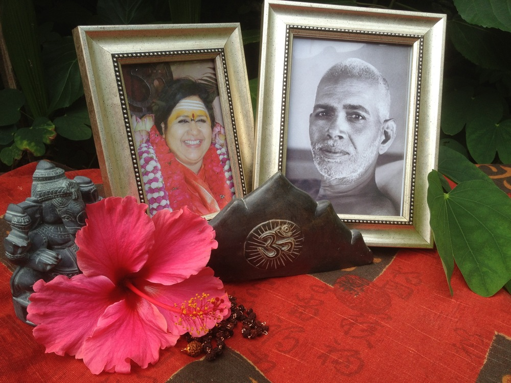 Sri Amma Karunamayi and Sri Ramana Maharshi