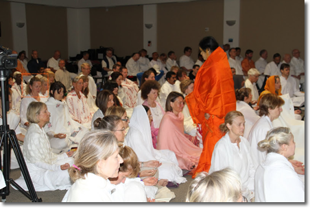 July 2011 Shaktipat Initiation