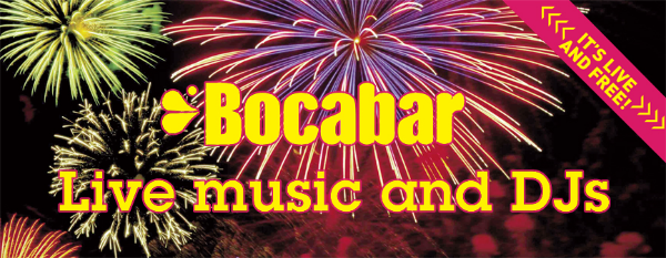 Live music and Djs at Bocabar
