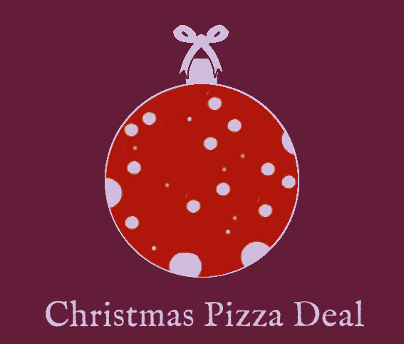 Glass of Cider and Chambord Fizz + pizza + dessert – £20