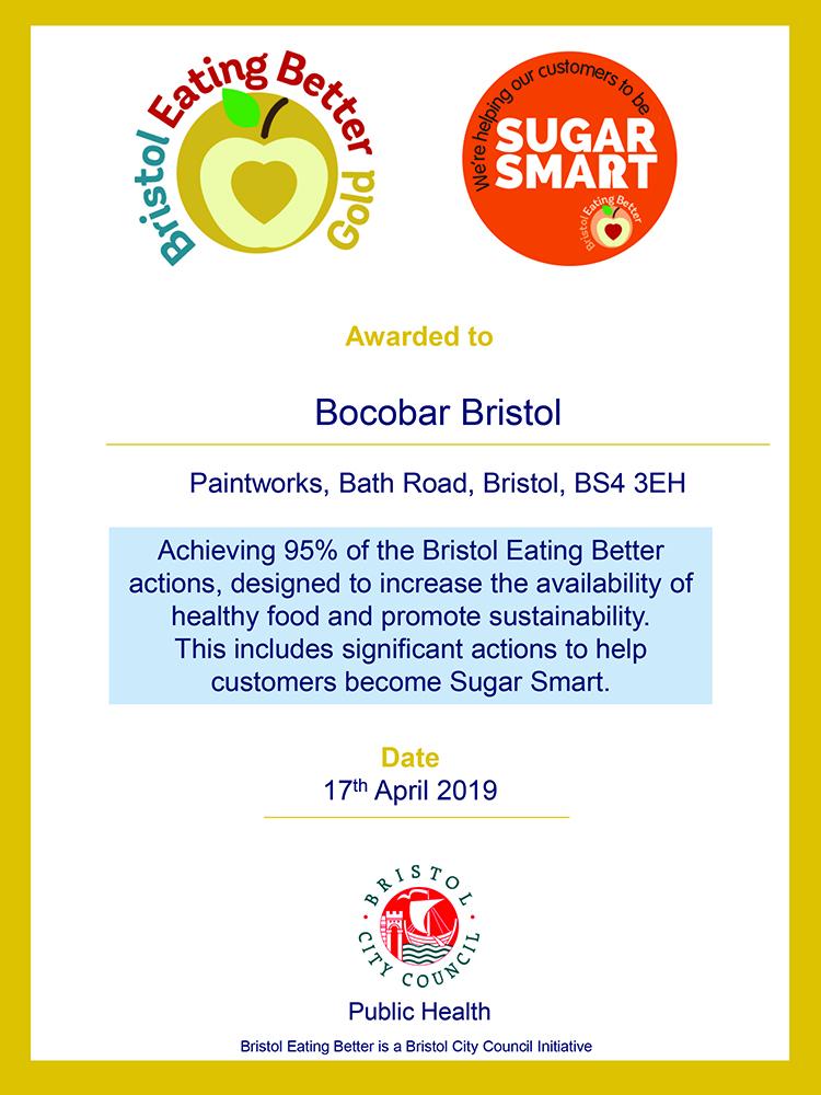 Bocobar Bristol Gold Sugar Smart Award 2019.jpg