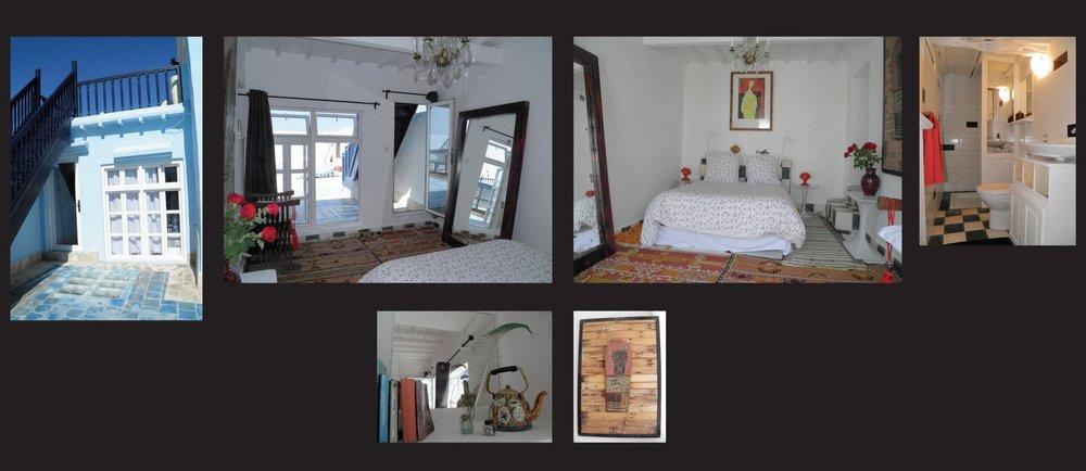 FLAUBERT – DZ (DB) mit Zugang zur Terrasse und Dusche