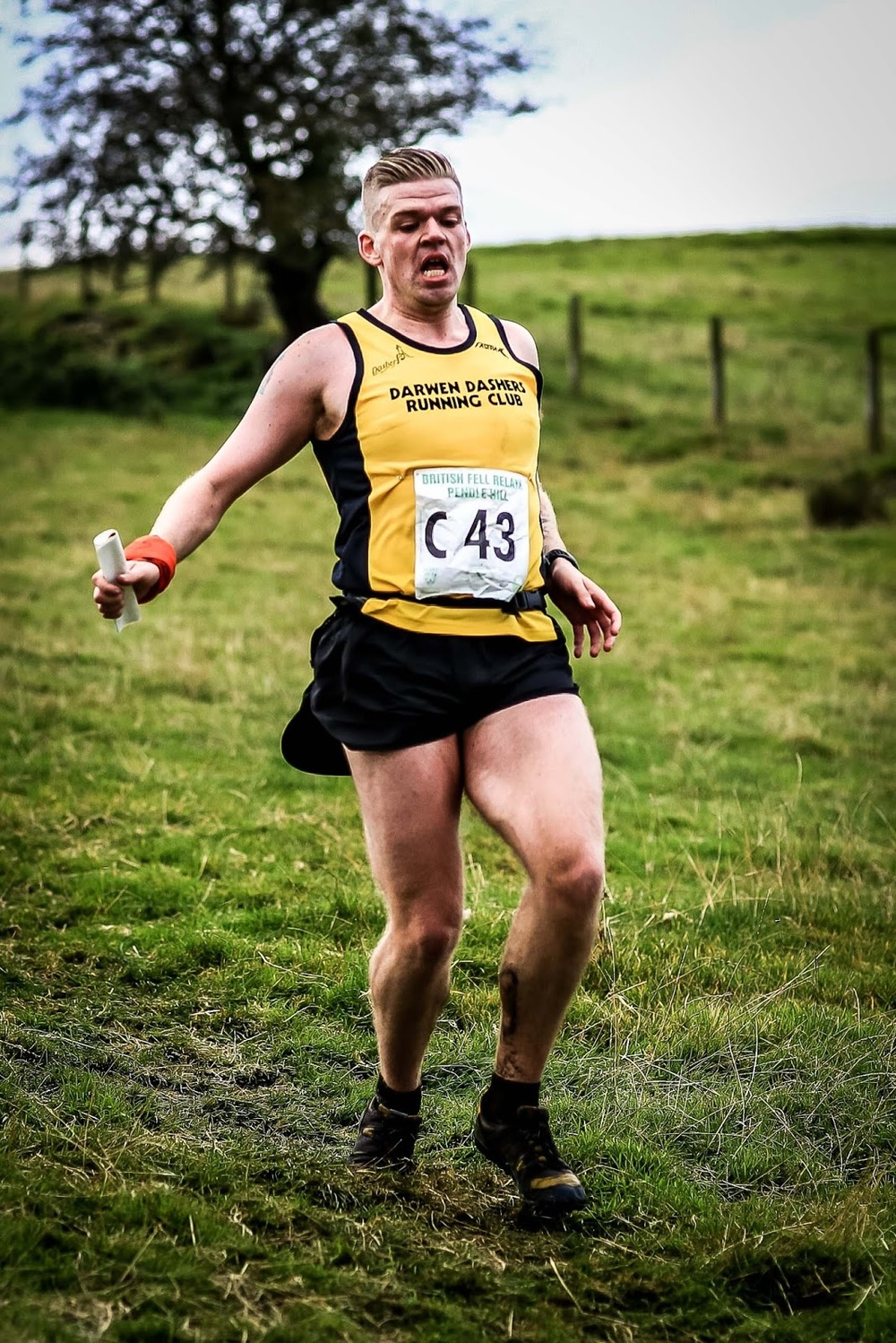 The 2015 British fell relays at Pendle - add your own caption, ha ha