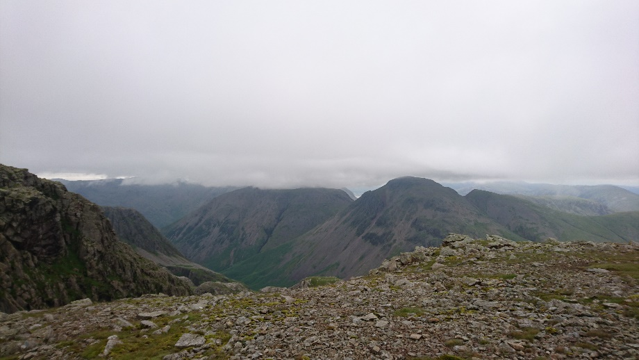 The view from Broad Crag.