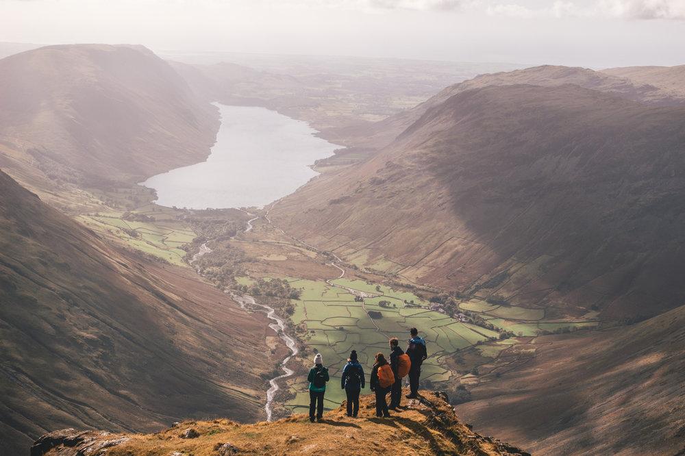 Ed Hockett - Great Gable  @walk.hike.explore