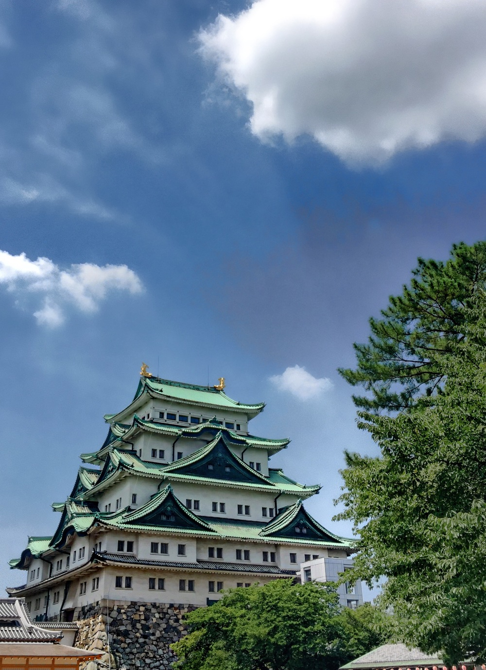 The Nagoya Castle