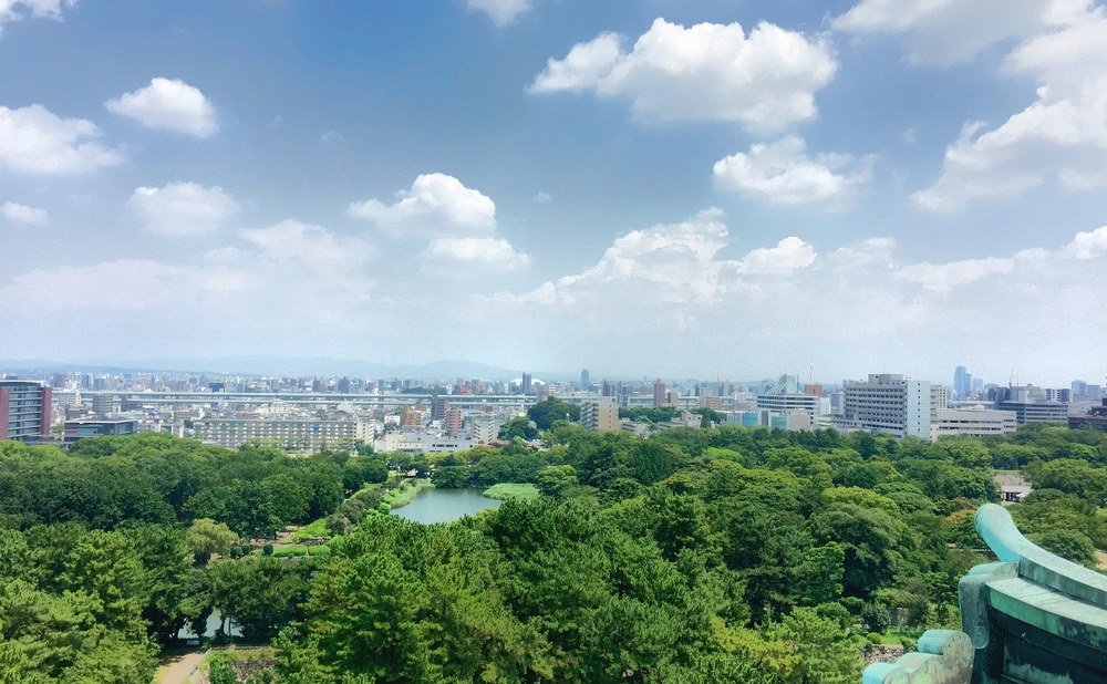 View from the Nagoya Castle