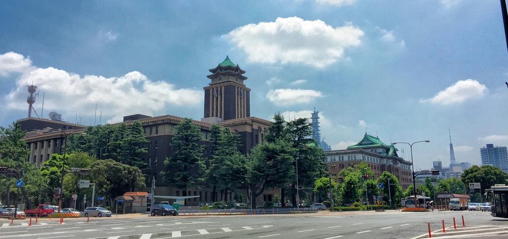 Nagoya, 35°C