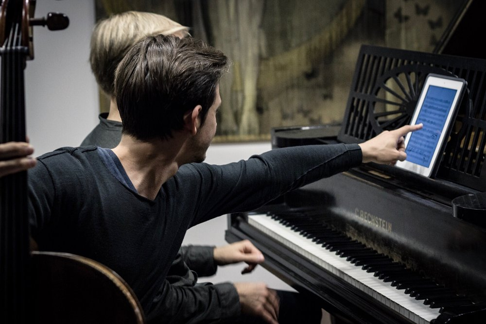 NeoTon rehearsal in Berlin