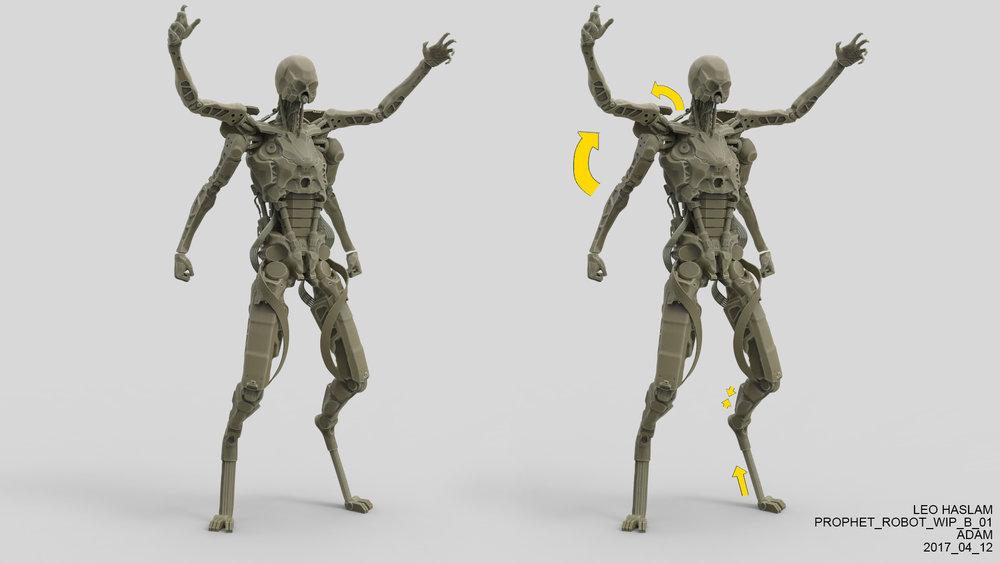 Prophet Endoskeleton Sketch