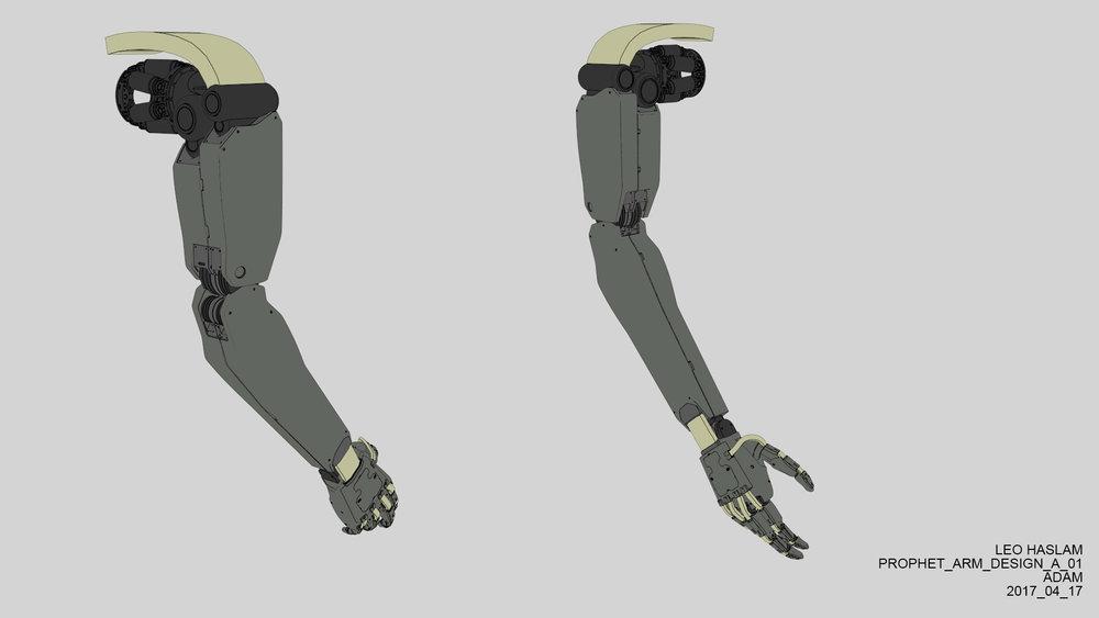 Double arm design