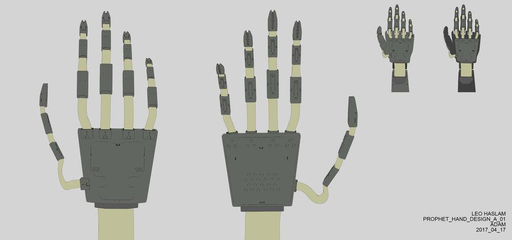 Secondary hand design