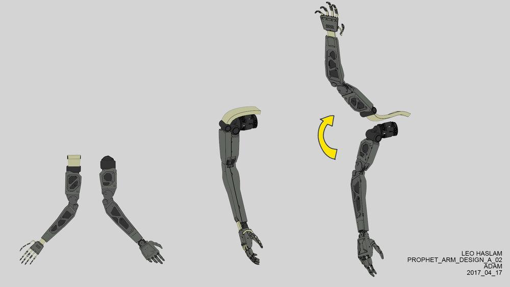 Double arm split