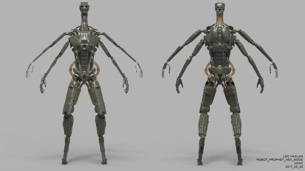 Robot Prophet (Alt Head) Hex mode