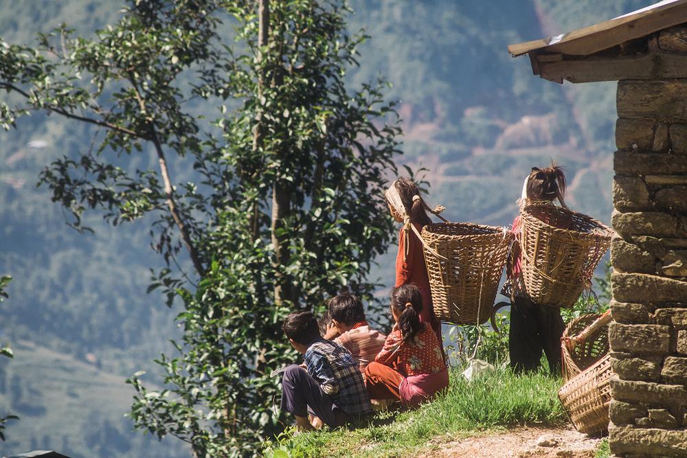 Kids from the local region | Photo: Sagar Chitrakar