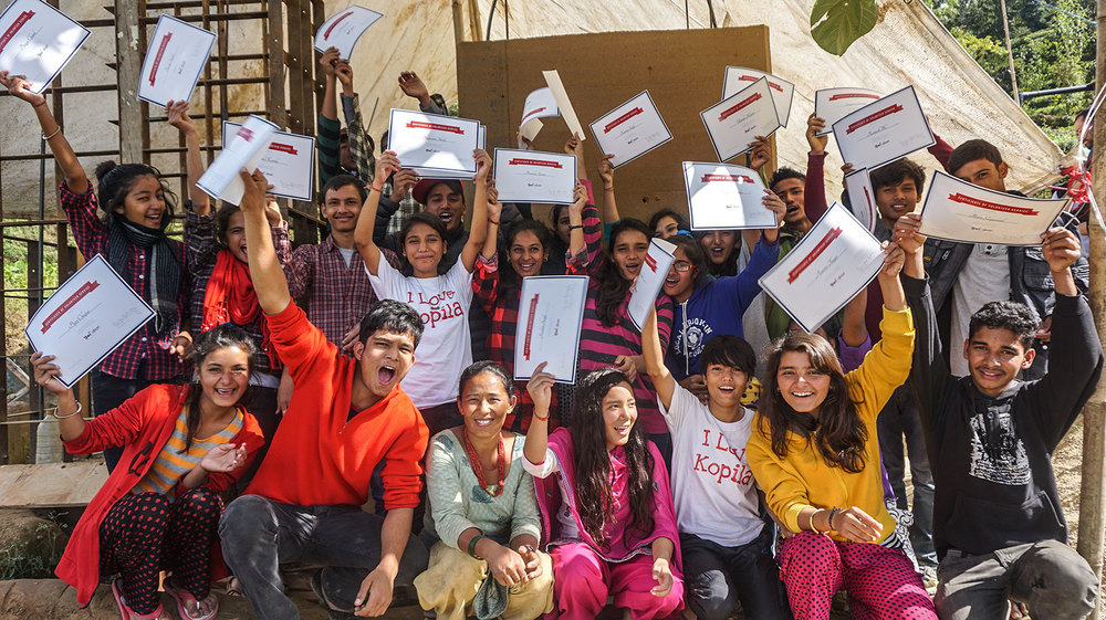 Volunteer Program   KOPIlA VALLEY SCHOOL    Read More  Building modern structure with Earth and Bamboo
