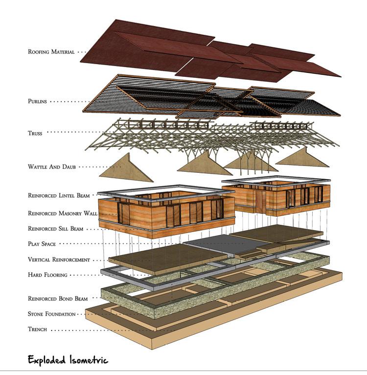 abari.permament-school-design-exploded-isometric