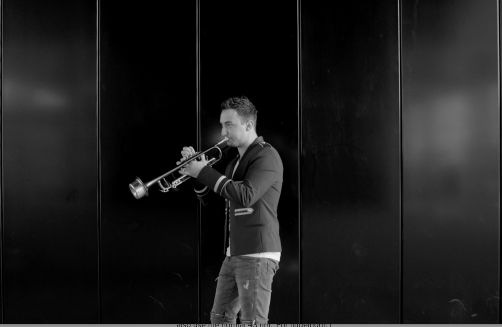 The selfmade Adams trumpet is featured in my new single 'The Resident'.  watch videoclip