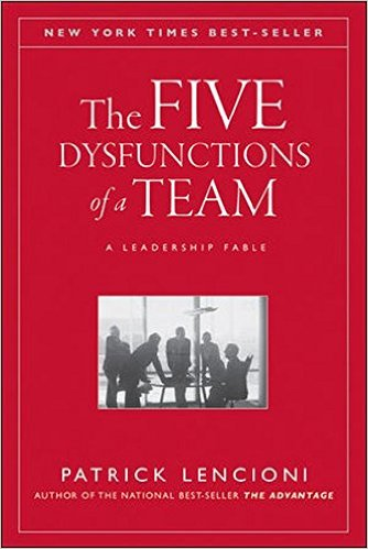 The five dysfunctions of a TEAM: Great book about how to manage people.