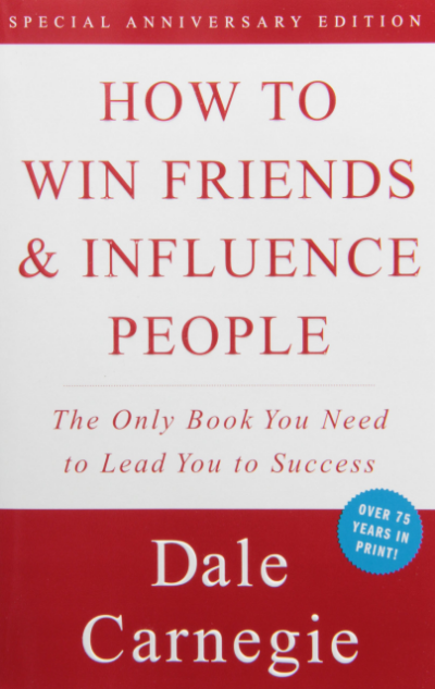 How to win friends and influence people: A MUST read for all dentists...this book helps with management AND treatment planning/connecting with patients.