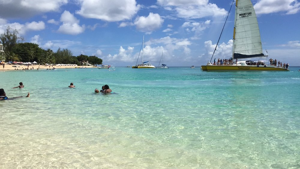 sandy lane beach barbados