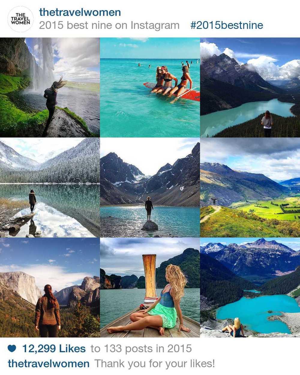 The Travel Women Best Instagram Moments of 2015