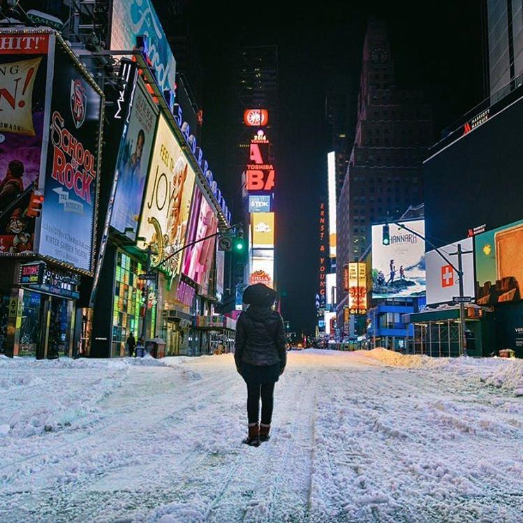 1. New York City: Times Square @jenniferscamera