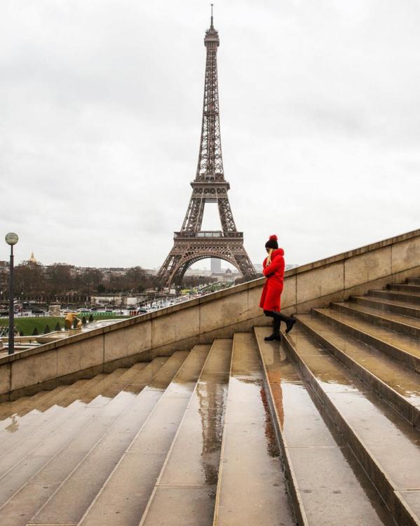 2. Paris: Eiffel Tower @biancasomer