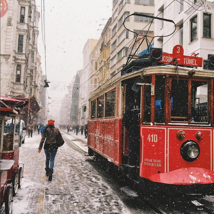 6. Istanbul:İstiklal Caddesi @gamzebiran by @sezyilmaz