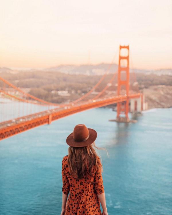 10. San Francisco: Golden Gate Bridge @helloemilie