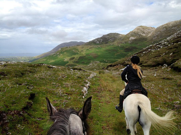 9. @lydia_cc_ by @horseridingireland in Donegal