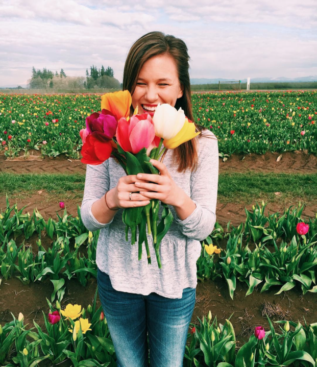 @hdamrow at the Wooden Shoe Tulip Festival, Oregon