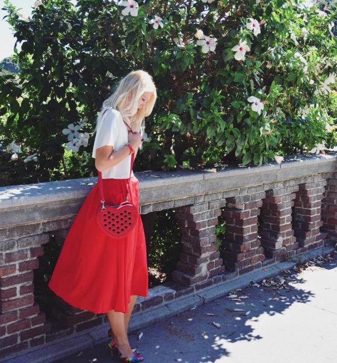 @german_blondy in Exposition Park Rose Garden, LA, California