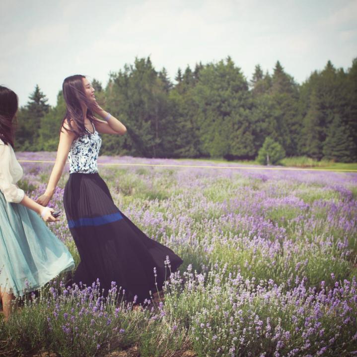 @skyviewt in lavender fields