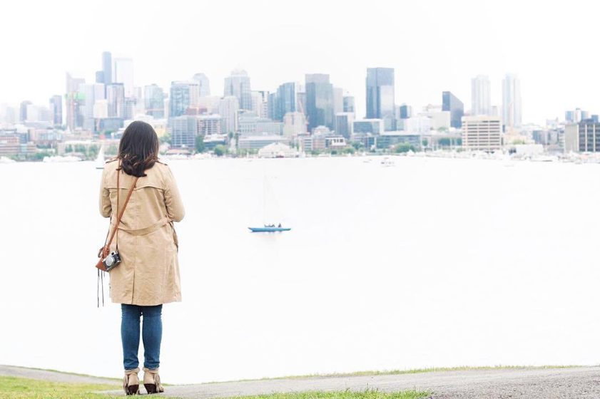 """@inthemomentsnapshot """"The fun thing about Seattle is the fact that there are millions of different perspectives of the city. My favorite is the perspective of the city through other's eyes."""""""