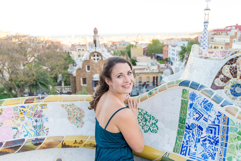 Anne Foss Barcelona Gaudi The Travel Women Ambassadors