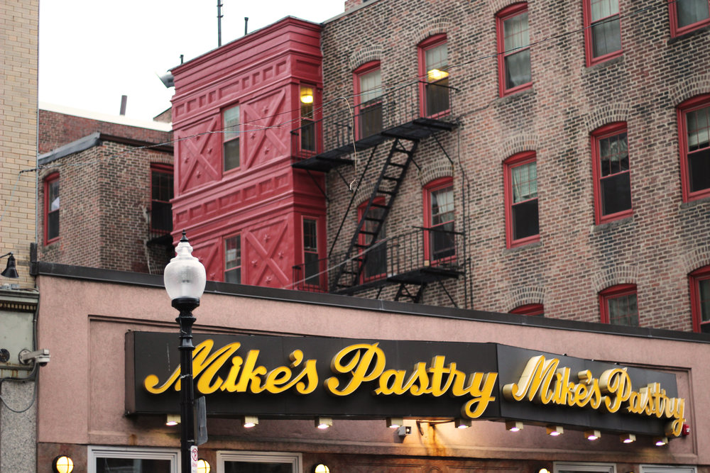 Top reasons to visit Boston and things to see Mike's Pastry Modern Pastry Cannoli Little Italy