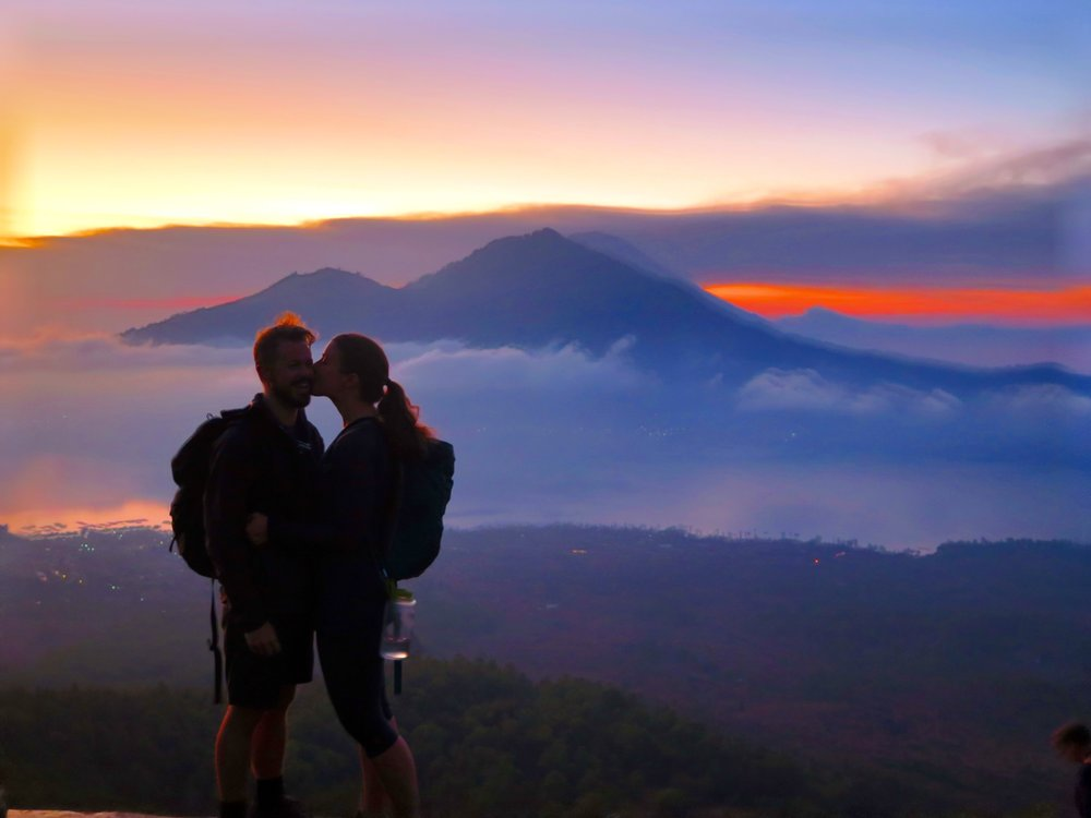 Top Tips on How to Travel as a Couple Mt Batur, Indonesia Anne Foss Travel Women
