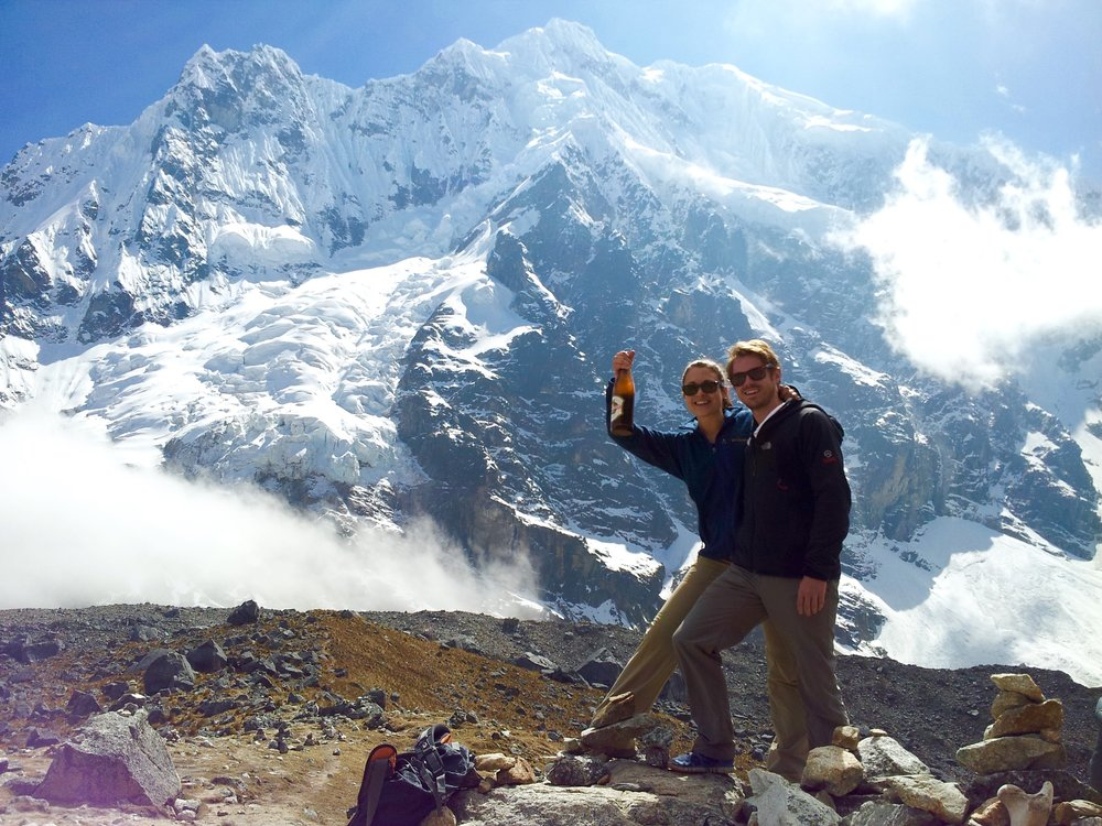 Top Tips on How to Travel as a Couple Salkantay trek, Peru Anne Foss The Travel Women