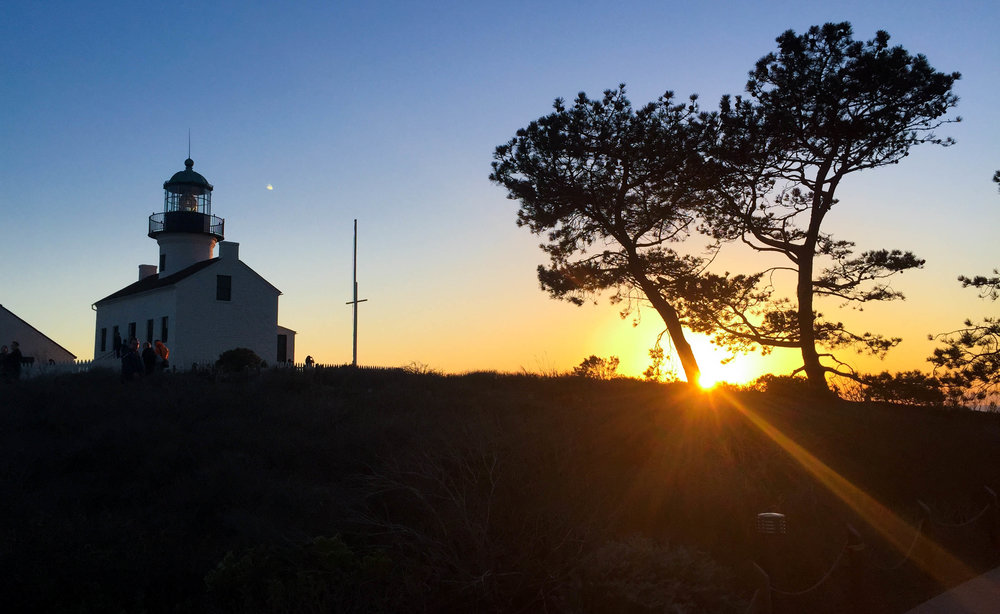 Old Light house, Point Loma
