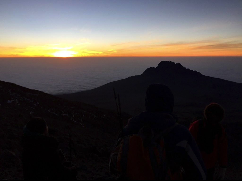 Summit Day - Barafu Camp - Uhuru Peak - Millennium Camp Mount Kilimanjaro Anne Foss Travel Women