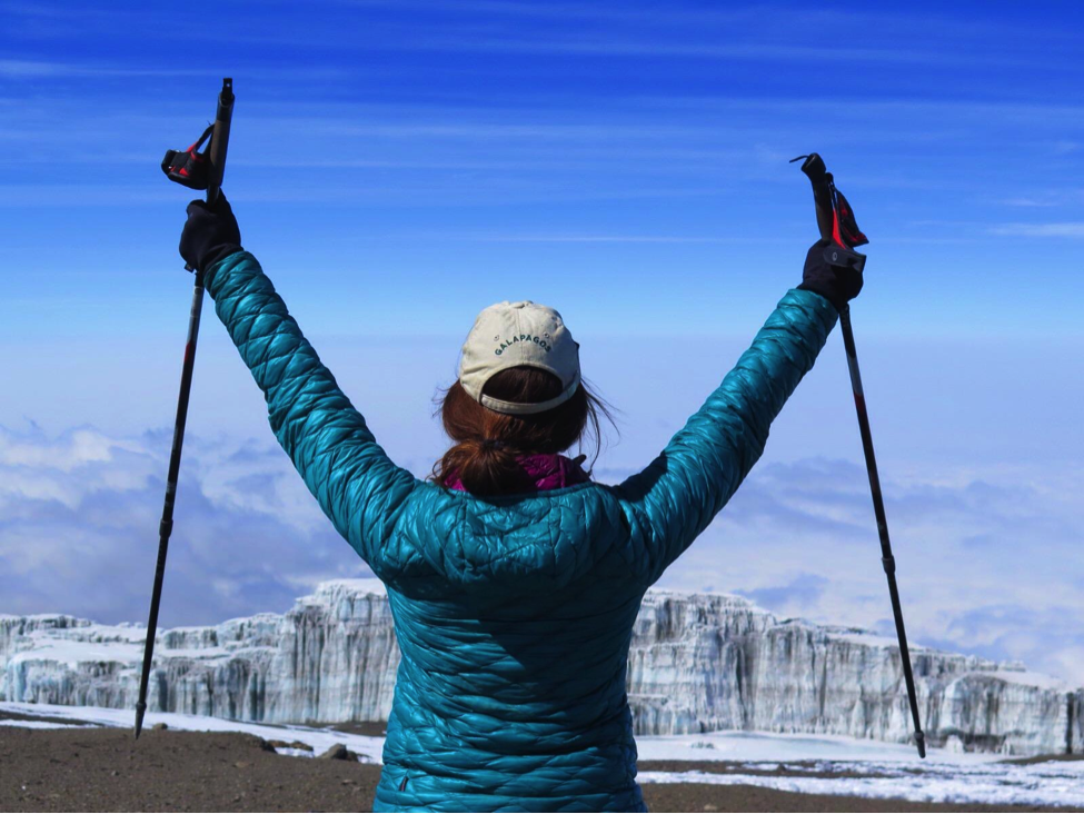 Summit Mount Kilimanjaro Anne Foss Travel Women