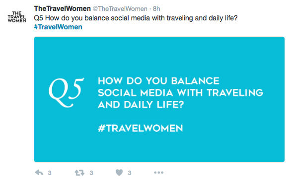 TheTravelWomen kicked off our first Twitter Chat today partnered with Canon and FotoCare talking about social media influencers. @UrbanAdventures and @Nicolette_O cohosted with us and we had amazing women tweeting from NYC to Austin to a cruise ship! In many ways anyone who has a social media account can be an influencer, but we all concluded that it is not just about the number of followers, you must be an authentic and trusted voice that adds value.