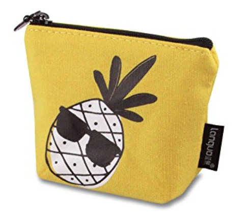 Pineapple Holiday Christmas Gift Guide The Travel Women  Linen Coin Purse