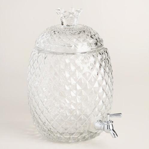 Pineapple Holiday Christmas Gift Guide The Travel Women Glass Embossed Beverage Holder