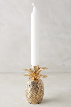 Pineapple Holiday Christmas Gift Guide The Travel Women Taper Candle holder