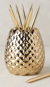 Pineapple Holiday Christmas Gift Guide The Travel Women Pencil Holder